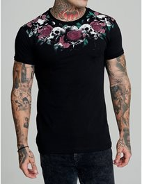 Rose Scull Tshirt