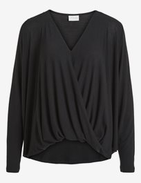 Vinexa L/S Wrap Top - Noos