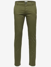 Slhskinny - Luca Olive Night Pants