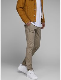 Smal chinos med stretch Marco Bowie Sa Beige