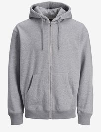 Soft Hoodie med dragkedja Jjesoft Sweat Zip Hood