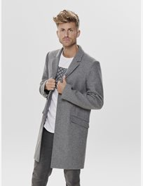 Ullrock Onsjulian Solid Wool Coat
