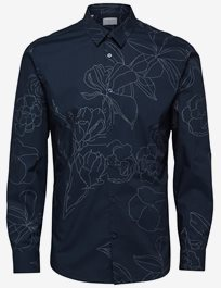 Shdoneflower Shirt Ls Aop